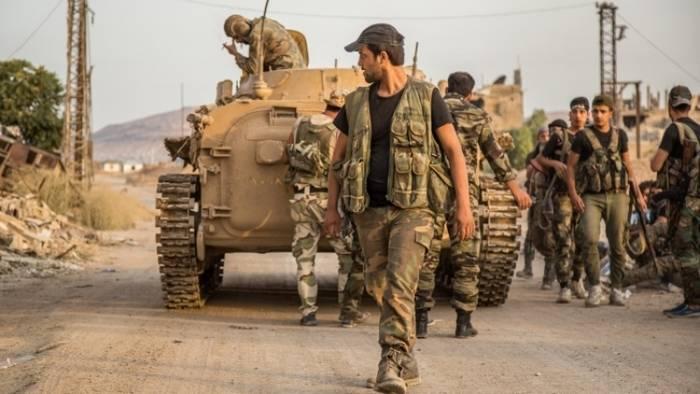 L'armée syrienne a encerclé le dernier fief des IG * du pays