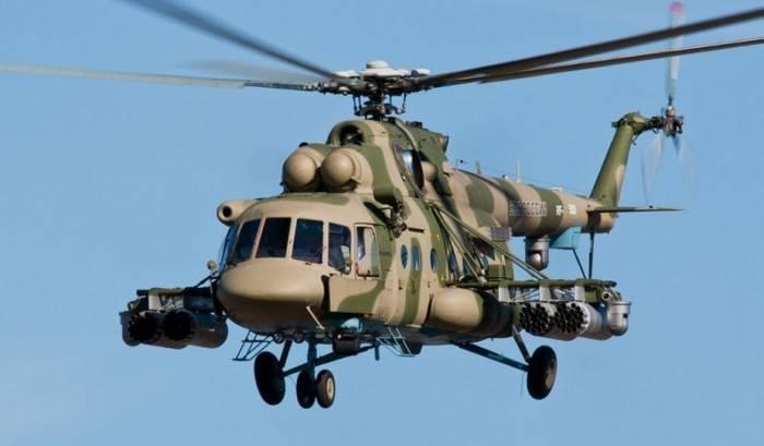 Rosguard erhielt die erste Partie Mi-8AMTSH
