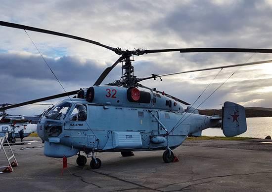 Primorye'de, X-NUMX helikopter Ka-6 helikopterlerinin tamirinden sonra geldi