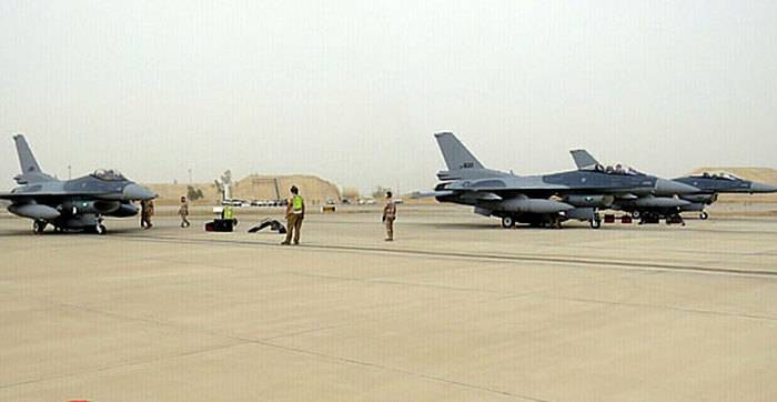 Iraqi Air Force Receives Fifth F-16 Fighter Jets 52 Block
