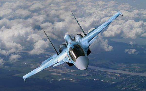 """""""El infierno de un patito"""": Su-34 bombardero por 60 segundos"""