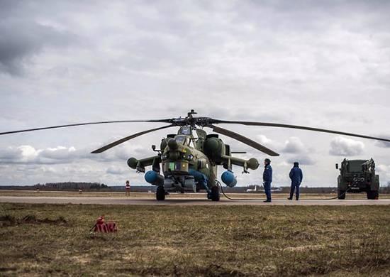 Mi-28UB हेलीकॉप्टरों का पहला जत्था सैनिकों को हस्तांतरित