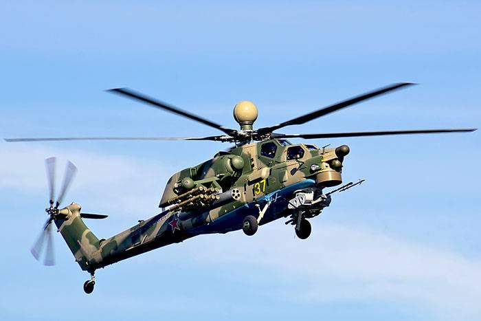 ВКС получили первую партию учебно-боевых вертолетов Ми-28УБ