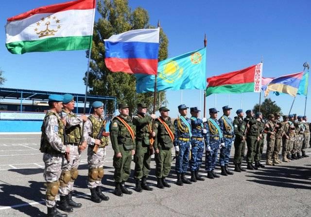 CSTO演习在塔吉克斯坦开始
