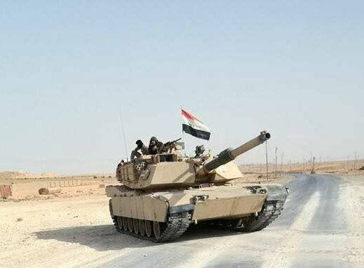 For the first time Iraqi Abrams entered Syria