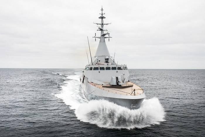 Emirados Árabes Unidos vai comprar duas corvetas francesas tipo Gowind 2500