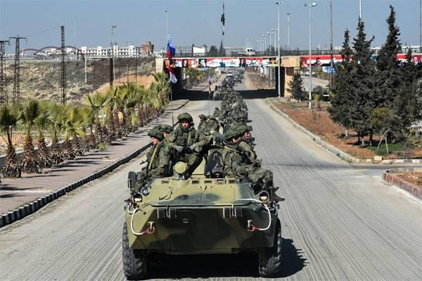 Ministério da Defesa negou a publicação do ataque terrorista na coluna russa em Latakia
