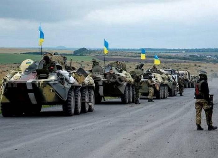 """조선 민주주의 인민 공화국은 키예프를 """"공격적인 계획의 이행"""""""