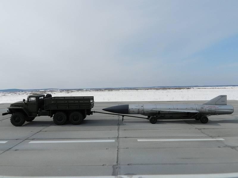 Arma estratosférica contra portaaviones.