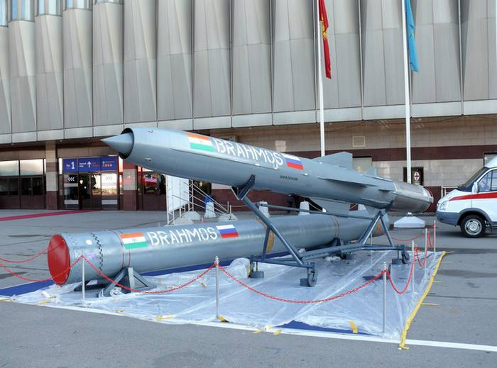 India purchased the first batch of BrahMos rockets