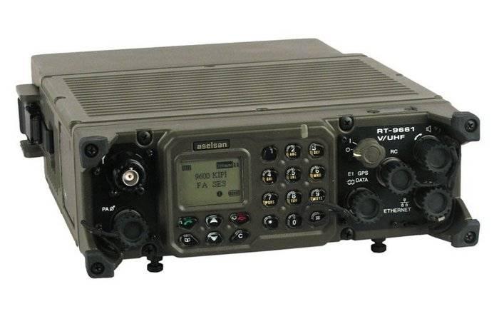 Até a 2020, a APU mudará completamente para equipar a Aselsan com rádios turcas