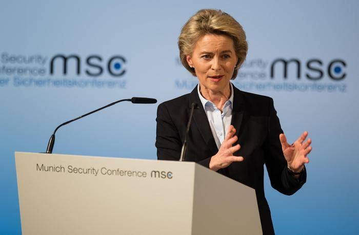 Ursula von der Lyayen: we are taking another step towards the creation of a European army