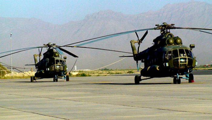 FSMTC: Afghanistan's refusal of Russian helicopters will hit the country's combat capability