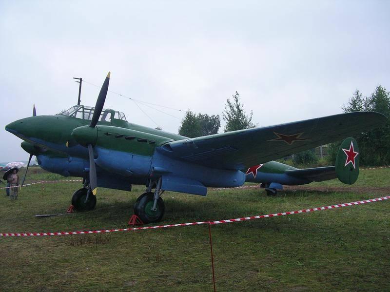 В Приморье обнаружены фрагменты бомбардировщика Пе-2 и останки радиста