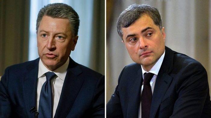 Surkov y Volker discutieron la posibilidad de desplegar una misión de la ONU en Ucrania