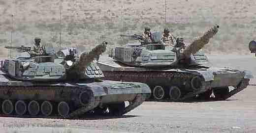 """Die amerikanische Armee kämpft weiter mit den """"russischen Panzern"""""""