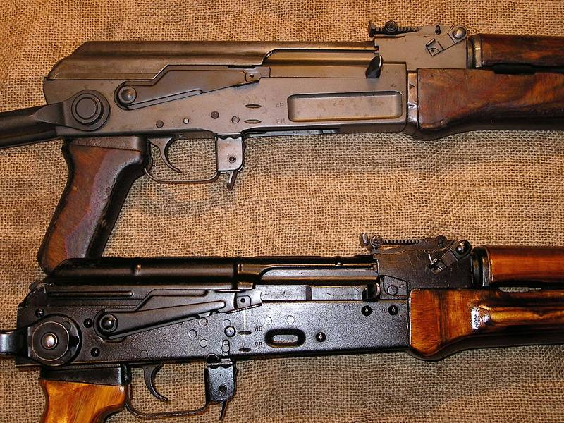 Sturmgever and stamping. The truth about the Kalashnikov machine gun (End)