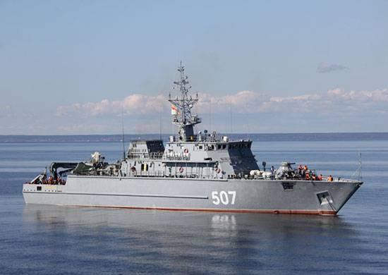 別の地雷防御船が、年末までにサンクトペテルブルクに敷設されます。