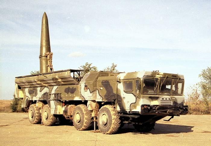 A Rússia colocou o Iskander-E OTRK em um dos países do norte da África