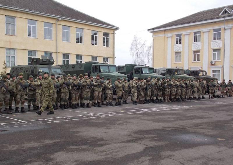 El servicio fronterizo de Ucrania anunció la transferencia de un contingente adicional a la frontera con Eslovaquia.
