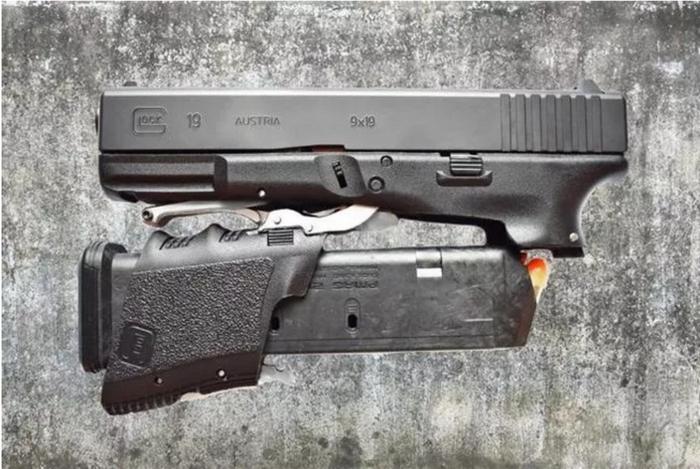 Full Conceal apresenta o design dobrável Glock 19