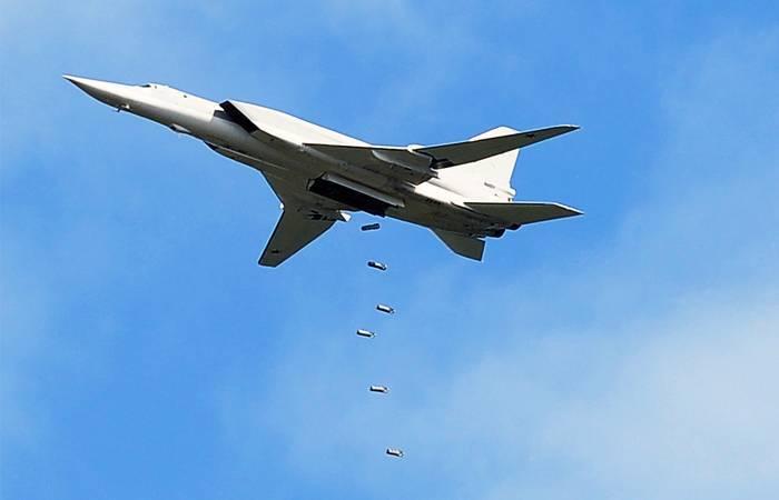 La aviación de largo alcance rusa golpeó el IS * en Al-Bukemal