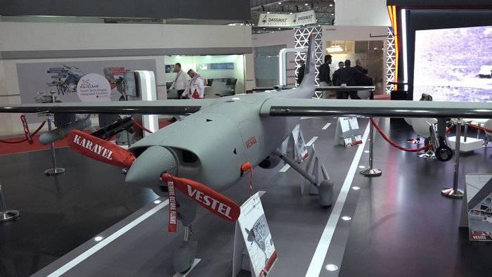 Турецкая компания презентовала ударный дрон Karayel-SU