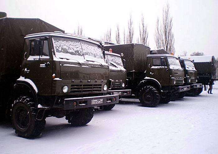 Las unidades de reparación ZVO recibieron un lote de nuevos camiones KAMAZ