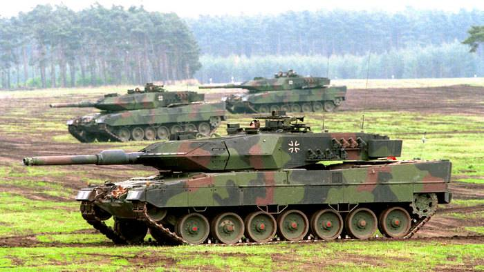 Media: more than half of Leopard 2 tanks are not ready for use.