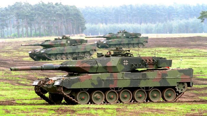 Medios: más de la mitad de los tanques Leopard 2 no están listos para su uso.