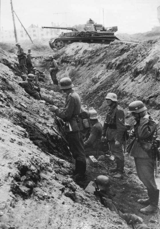 "The German command focused on ""extremely active"" defense and ""a sense of superiority of the German soldier over the Russian"""