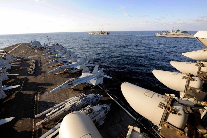 Caro Krusciov, o Quanto sono pericolose le portaerei americane per la Russia