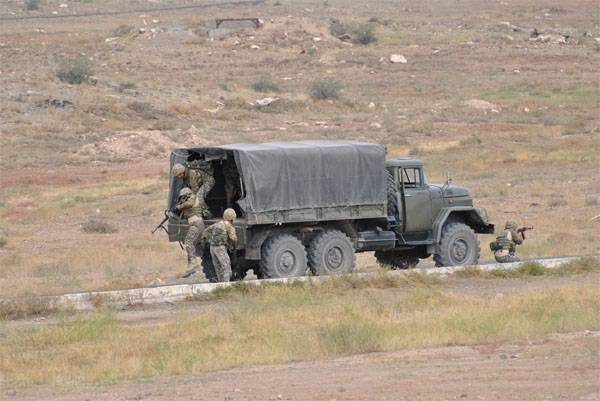 For the first time the SSO of the Armed Forces of the Russian Federation are involved in the exercises of the CSTO CRRF in Tajikistan