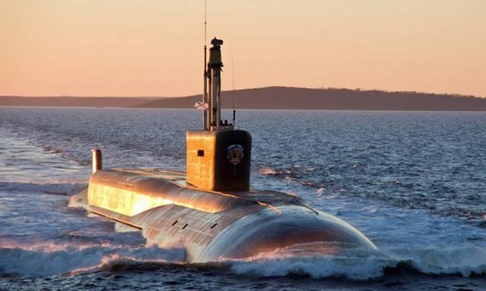 """O desenvolvimento da aparência do submarino """"Borey-B"""""""