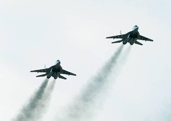 Las tripulaciones del MiG-29SMT realizaron vuelos ultra largos.