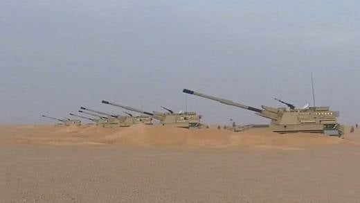 Algerian Armed Forces replace Russian howitzers with Chinese PLU 45 self-propelled guns