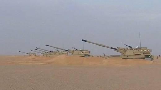 Forças Armadas da Argélia substituem obuseiros russos por pistolas automotoras chinesas PLU 45