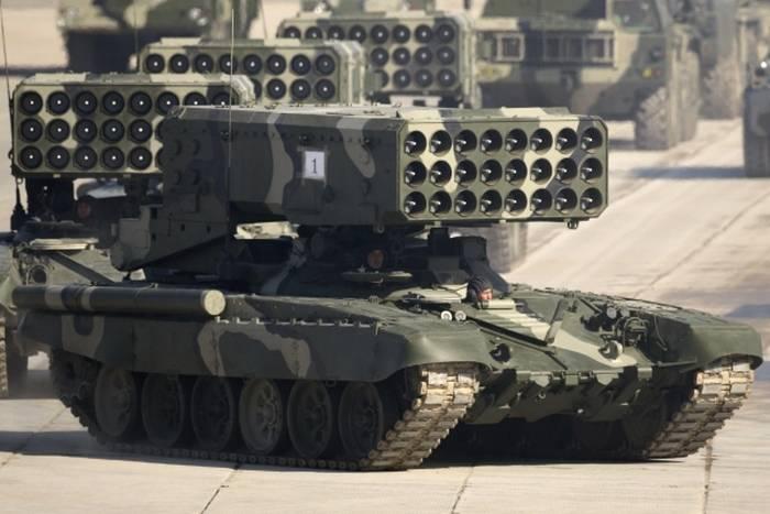 アップグレードされた火炎放射器システムTOC-1Aの最初のバッチは、ロシア連邦の国防省の移管の準備ができています