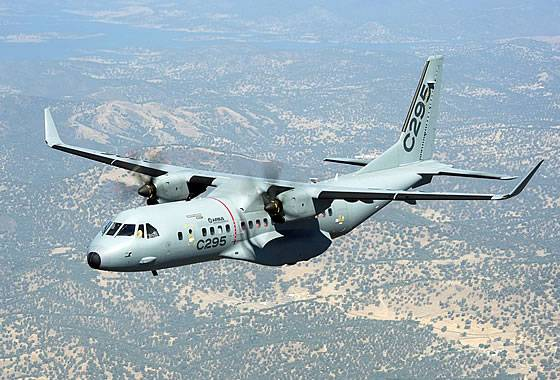 UAE bought five transport aircraft C-295