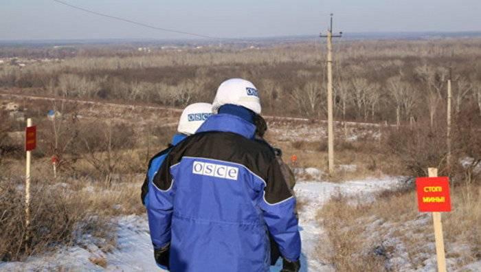 OSCE : Donbass에서 번식 세력의 과정이 지연됨