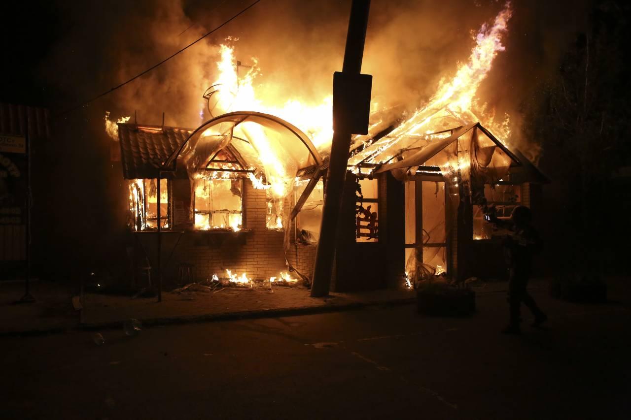 Украинские боевики открыли огонь поДокучаевску 24ноября 2017 17:14