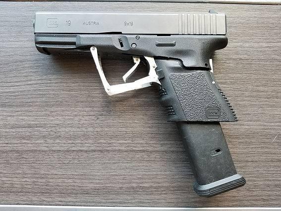 M3 Glock 19 Pistol and Progenitor
