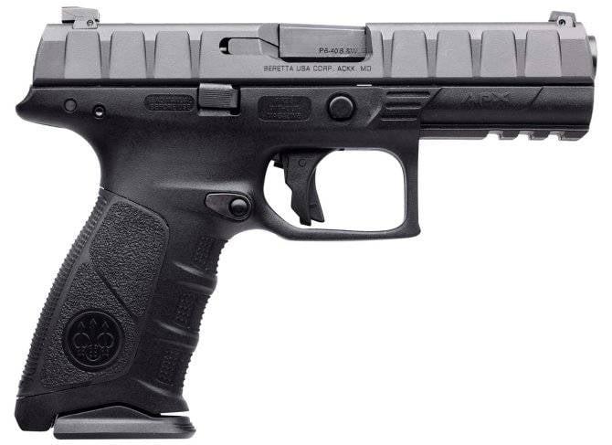 Pistol Beretta APX将军队留在了民用市场