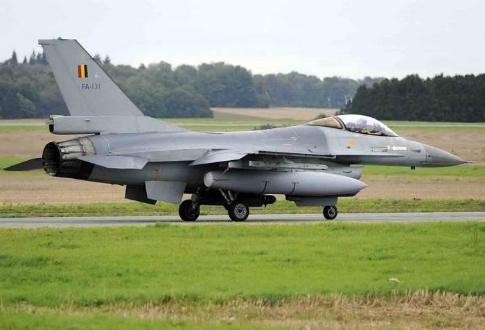 比利时F-16将在爱沙尼亚领空进行训练