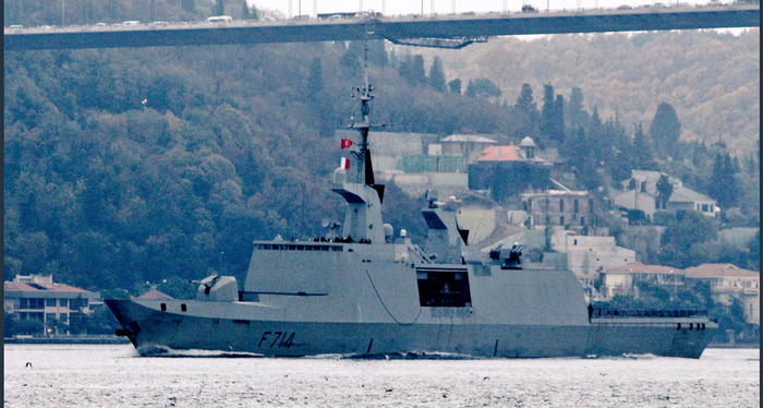 """French """"stealth frigate"""" is conducted by Russian radars"""