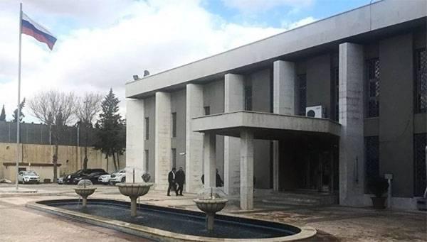 Des militants ont tiré des obus de mortier sur l'ambassade de Russie à Damas
