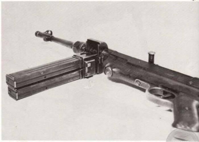 Metralhadora MP 40 / I (Alemanha)