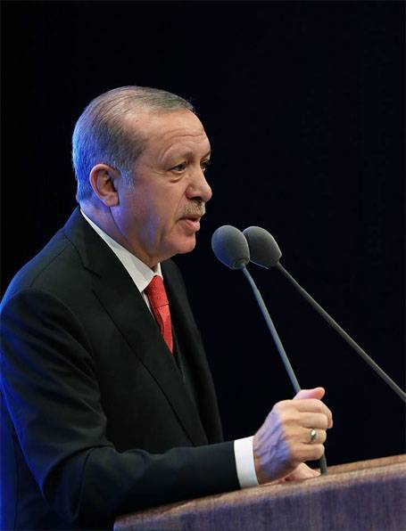 Erdogan - USA: If it's done with ISIS, why are you sending weapons to Syria?