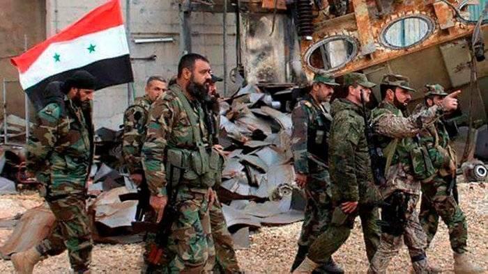 Шаманов: сирийская армия сможет самостоятельно контролировать ситуацию в стране