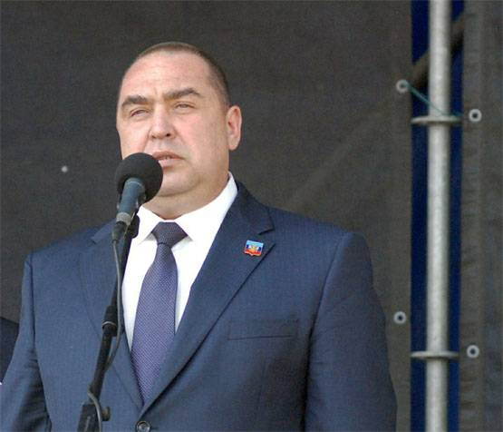 Igor Plotnitsky: Cornet is lying, he is removed from the post of the head of the Ministry of Internal Affairs of the LNR